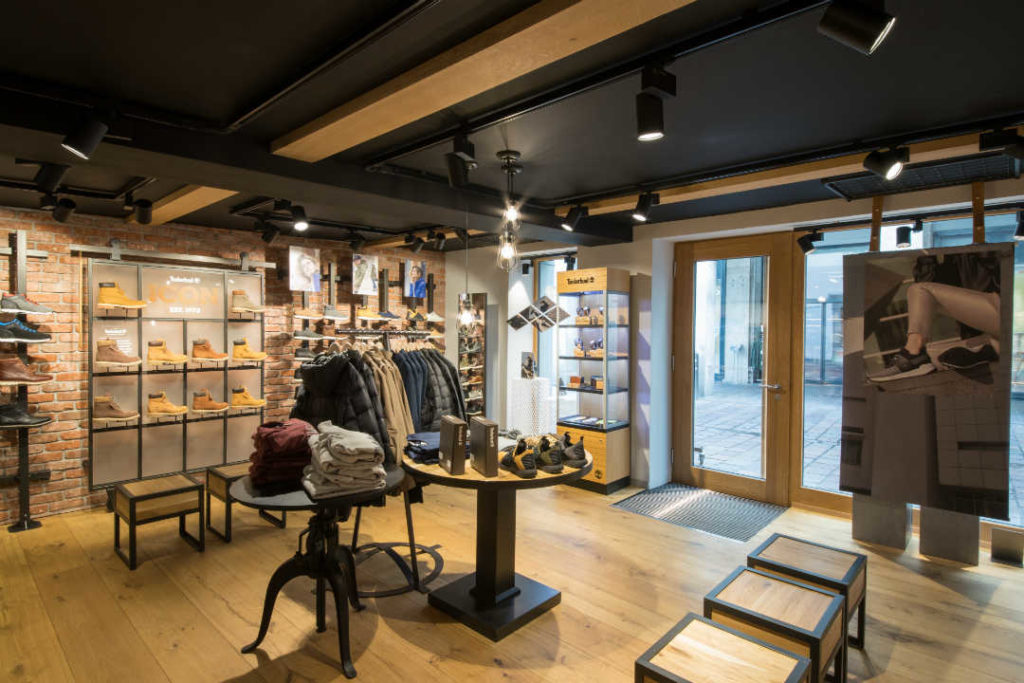 Timberland Stores by 7Steps